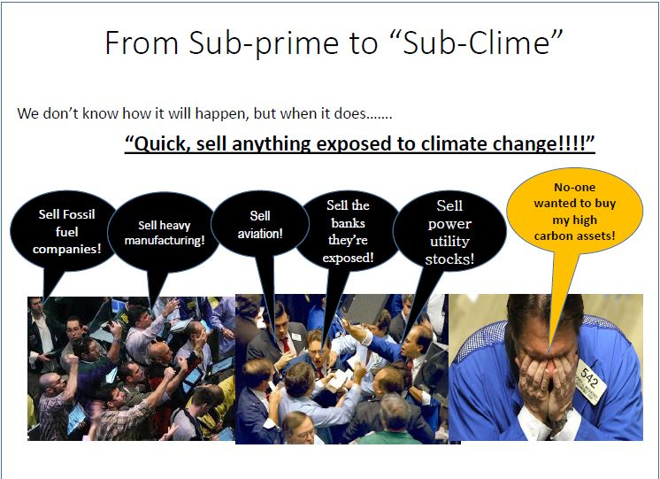 From Sub-prime to 'Sub-clime'